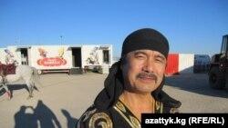 Айтылуу цирк чебери, Кыргызстандын эл артисти Манат Эшимбеков. 2010-жылдын 10-октябры. (TCh)