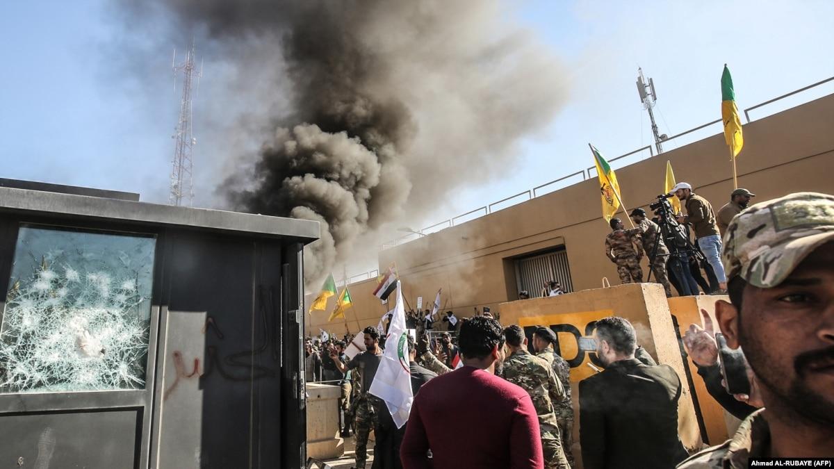 Трамп призвал иракцев, которые «хотят свободы», ответить на нападение на посольство США в Багдаде