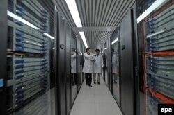 Китайский суперкомпьютер Tianhe-1A