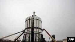 Ремонт газової свердловини в Техасі, грудень 2008 року
