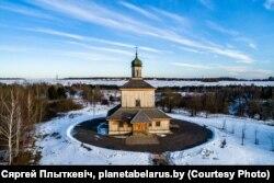 Спаса-Праабражэнская царква зь вёскі Барань