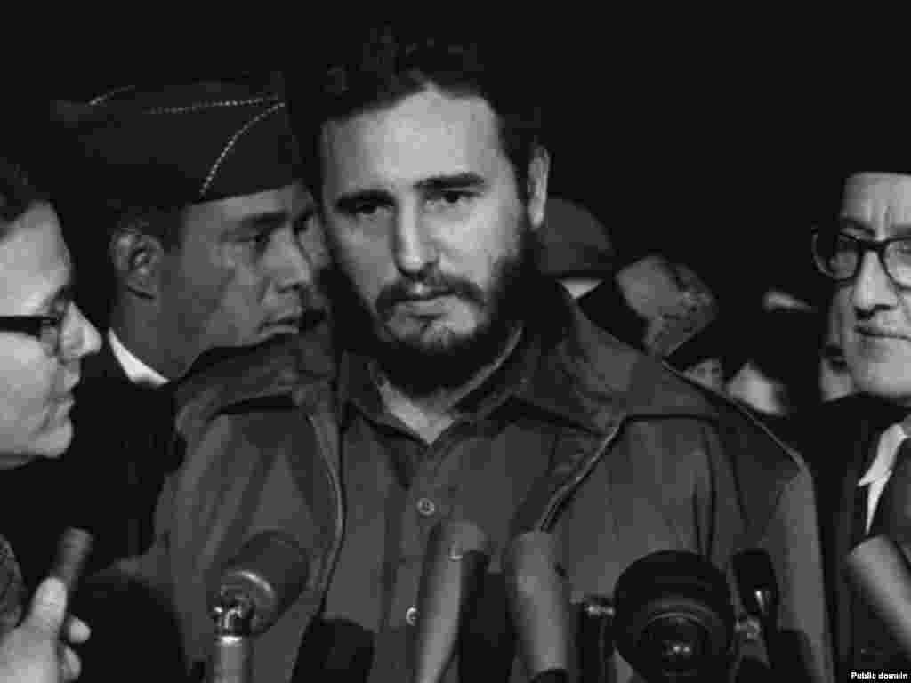 Фидел Кастро дар Вашингтон, моҳи апрели 1959