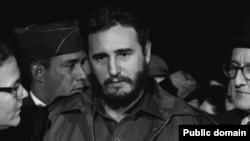 عکسی از کاسترو در سالی که در کوبا به قدرت رسید.