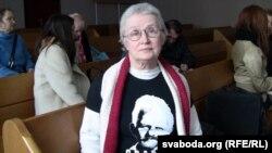 Ніна Багінская ў судзе