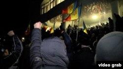 Массовые протесты в Молдове в 2016 году