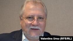 Veaceslav Untilă în studioul Europei Libere