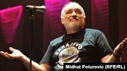 Đorđe Balašević na koncertu u Sarajevu, 2011.
