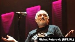 Đorđe Balašević na koncertu u Sarajevu u novembru 2011. godine