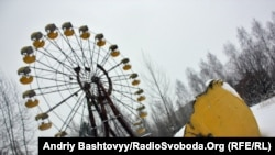The abandoned fun fair in Pripyat, the setting of the film