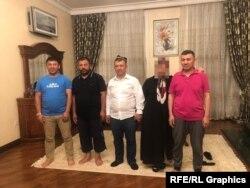 Братья Абдукадыр. Слева направо: Алимуджан Хадир, Наби Хадир, Маймаитили Хадир и Хабибула Абдукадыр. Фото: OCCRP