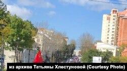 Шествие в поддержку Сергея Фургала, Хабаровск, архивное фото