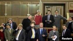 Делегация ЕС на заседании Верховной Рады Украины