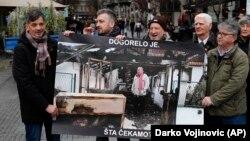 Protest predstavnika medija protiv napada na novinare, Beograd, 12. decembar 2019.