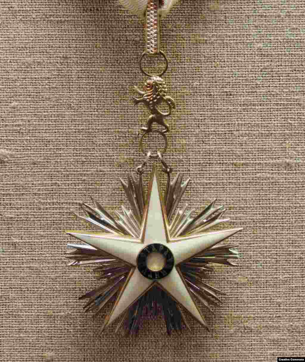 "Bulgaria's Stara Planina   The spiky medal was previously reserved for foreign dignitaries but is now also awarded to Bulgarians who have given ""outstanding services"" to their country."