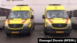 Автомобили скорой медицинской помощи.