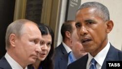 Susret potrajao duže no što je predviđeno, Vladimir Putin i Barack Obama na marginama G20 u Hangžuu, 5. septembra 2016.