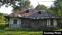 Casa din Mihăileni astăzi