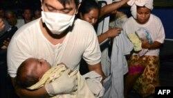 امدادگران توانستند تا ساعات اولیه روز شنبه ۵۷۲ مسافر را نجات دهند