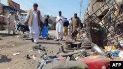 Jedna od eksplozija u Pakistanu - ilustracija