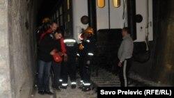 Željeznička nesreća kod Mojkovca, 13. novembar 2012.