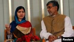 Малала Юсуфзай менен Кайлашу Сатьяртхи