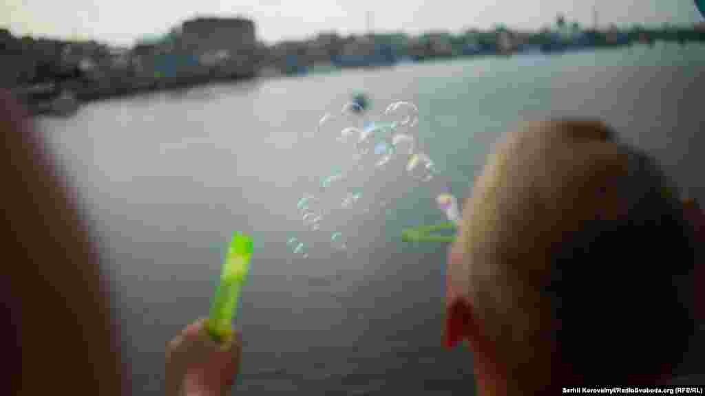 Бульбашки над Дніпром