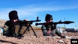 Иракские отряды Пешмерга (курдские военизированные формирования), сентябрь 2016 года