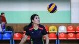 "Kyrgyzstan - Bishkek - women's volleyball league ""Dilgir"" - woman in sport - sport - volleyball - 9 February 2020"