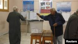 Votimet në referendumin kushtetues në Egjipt.