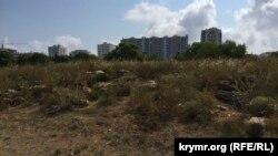Парк Победы в Севастополе, который, по информации блогера Анатолия Шария, собиралась застроить компания Евгения Кабанова
