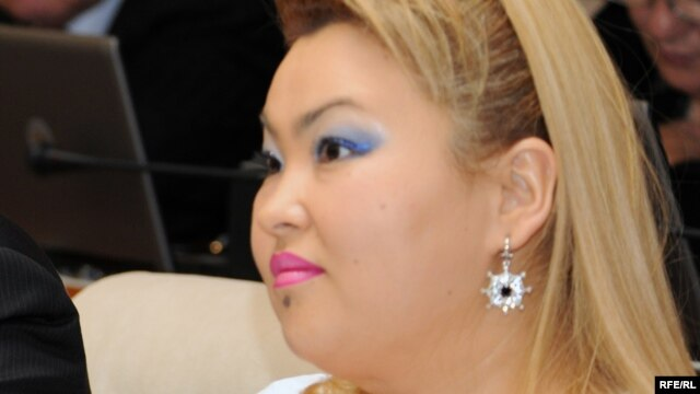 Қазақстан парламентінің бұрынғы депутаты Бақыт Сыздықова. Астана, 5 қазан 2009 жыл.