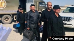 All of the convicts handed to Kabul are supposed to serve out their prison terms in penitentiaries in Afghanistan.