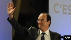Францияның оппозициялық социалистік партиясының жетекшісі Франсуа Олланд.