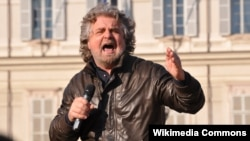 Beppe Grillo, an Italian comedian, actor, blogger, and head of the populist Five Star Movement.
