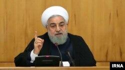 Звернення президента Роугані до народу державне телебачення показало 8 травня, рівно через рік по тому, як президент Дональд Трамп оголосив про вихід США з ядерної угоди і відновлення санкцій проти Тегерана