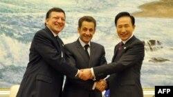 رهبران اروپایی و آسیایی در بیانیه پایانی خود متعهد شدند در نظام مالی بینالمللی اصلاحات عمیقی به عمل آورند.(عکس: Afp)