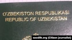 Özbek pasporty