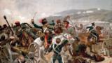 """""""Балаклавское сражение"""", фрагмент картины английского художника Ричарда К. Вудвилла (1897), изображающей одно из сражений Крымской войны (1855)"""