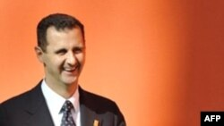 Syrian President Bashar al-Assad at the Mediterranean summit in Paris