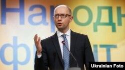 Лідер партії «Народний фронт» Арсеній Яценюк, архівне фото