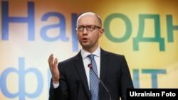 آرسينی ياتسنيوک،نخست وزیر اوکراين
