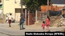 Ромската населба Тризла во Прилеп.