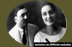 Xurşud xanım və Əhməd bəy Pepinov