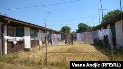 Pamje nga një kamp refugjatësh në Serbi