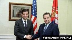 Ves Mičel i Ivica Dačić