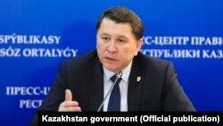 Главный санитарный врач Алматы Жандарбек Бекшин