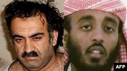 Халид Шейх Мохаммед (с левой стороны)