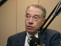 U.S. Senator Charles Grassley at RFE/RL
