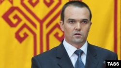 Чуашстанның (әлегә) президенты Михаил Игнатьев