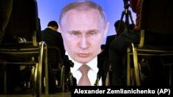 Putin böyük ekranda